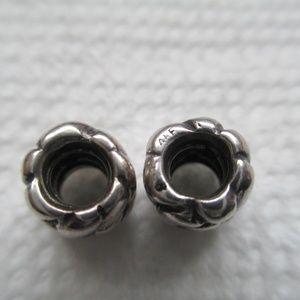 pandora Jewelry - Pandora lot of 2 retired bead set